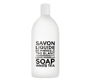 Sapone Liquido di Marsiglia al Tè Bianco Ricarica 1L Compagnie de Provence Italia CPPF0103SL01LTB-20