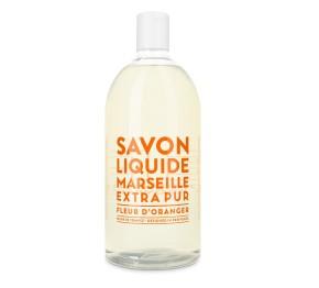 Sapone Liquido di Marsiglia ai Fiori dArancio Ricarica 1L Compagnie de Provence Italia CPPF0101SL01LFO-20