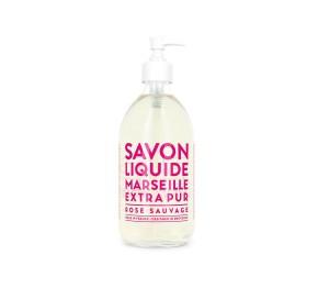 Sapone Liquido di Marsiglia alla Rosa Selvatica 500 ml Compagnie de Provence Italia CPPF0101SL500RO-20