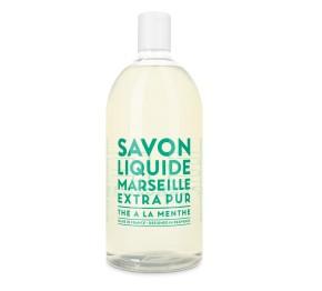 Sapone Liquido di Marsiglia al Tè alla Menta Ricarica 1L Compagnie de Provence Italia CPPF0101SL01LMN-20