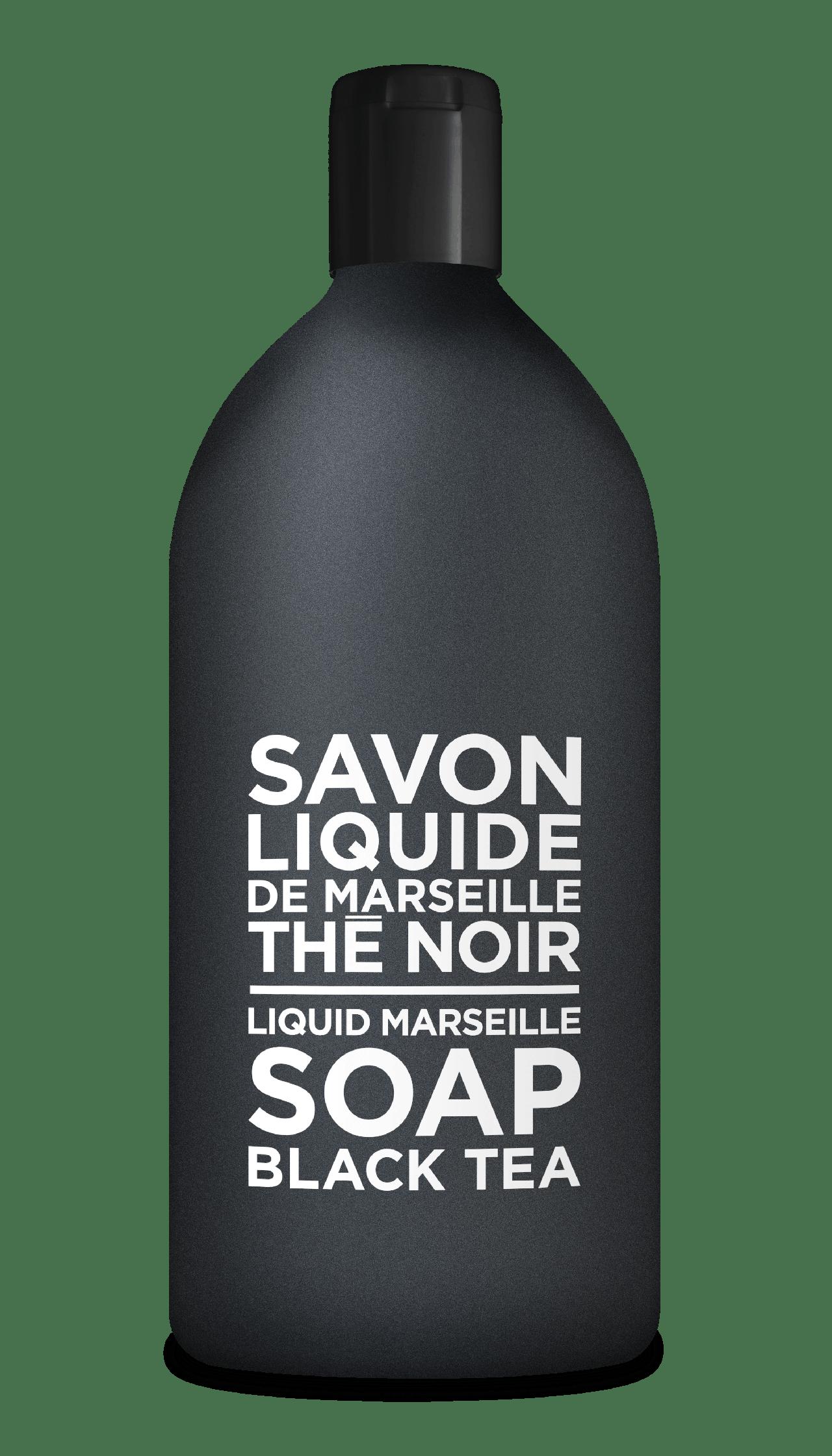 Sapone Liquido di Marsiglia al Tè Nero Ricarica 1L Compagnie de Provence Italia CPPF0103SL01LTN-01