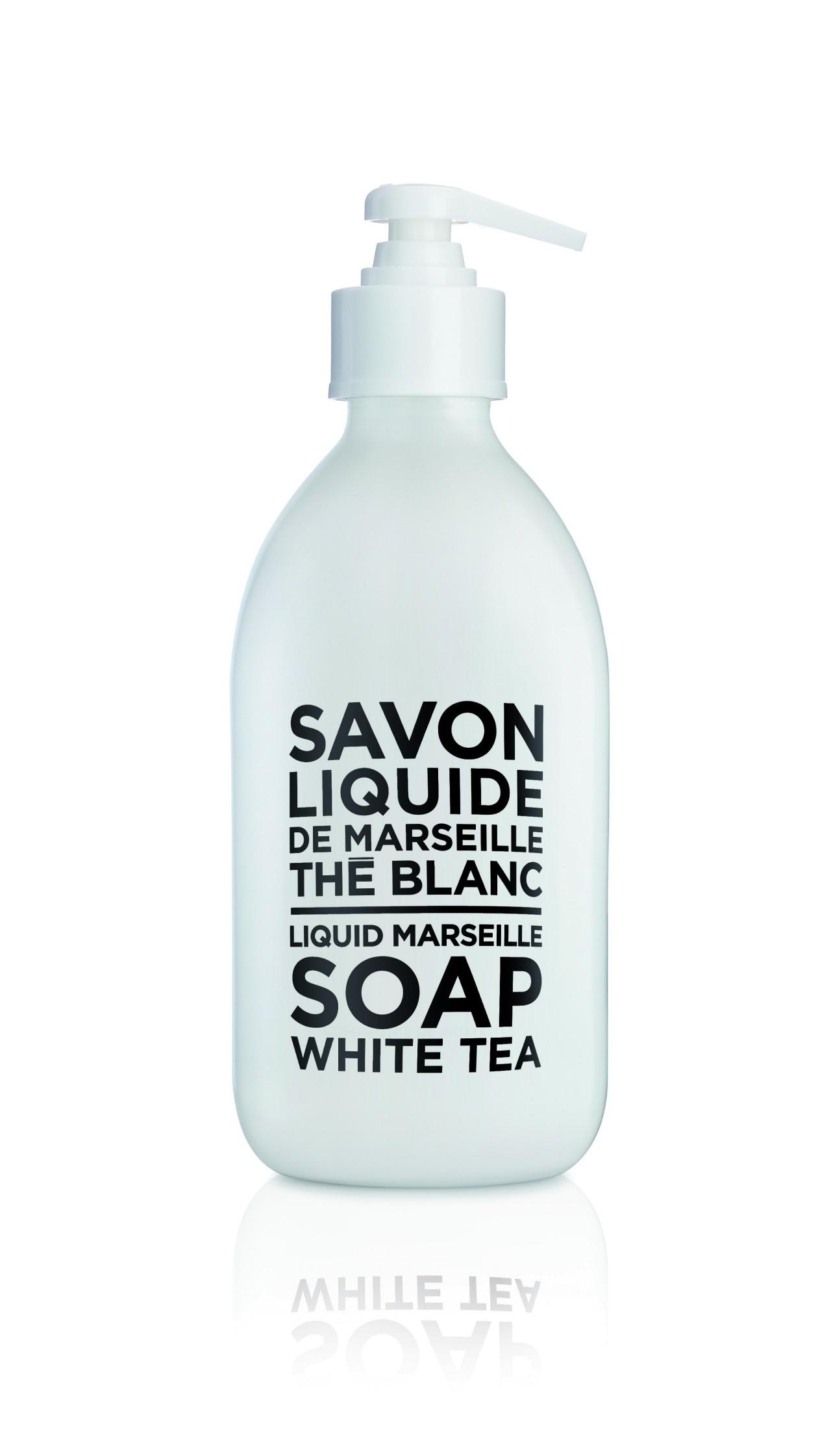 Sapone Liquido di Marsiglia al Tè Bianco 300 ml Compagnie de Provence Italia CP69422-01