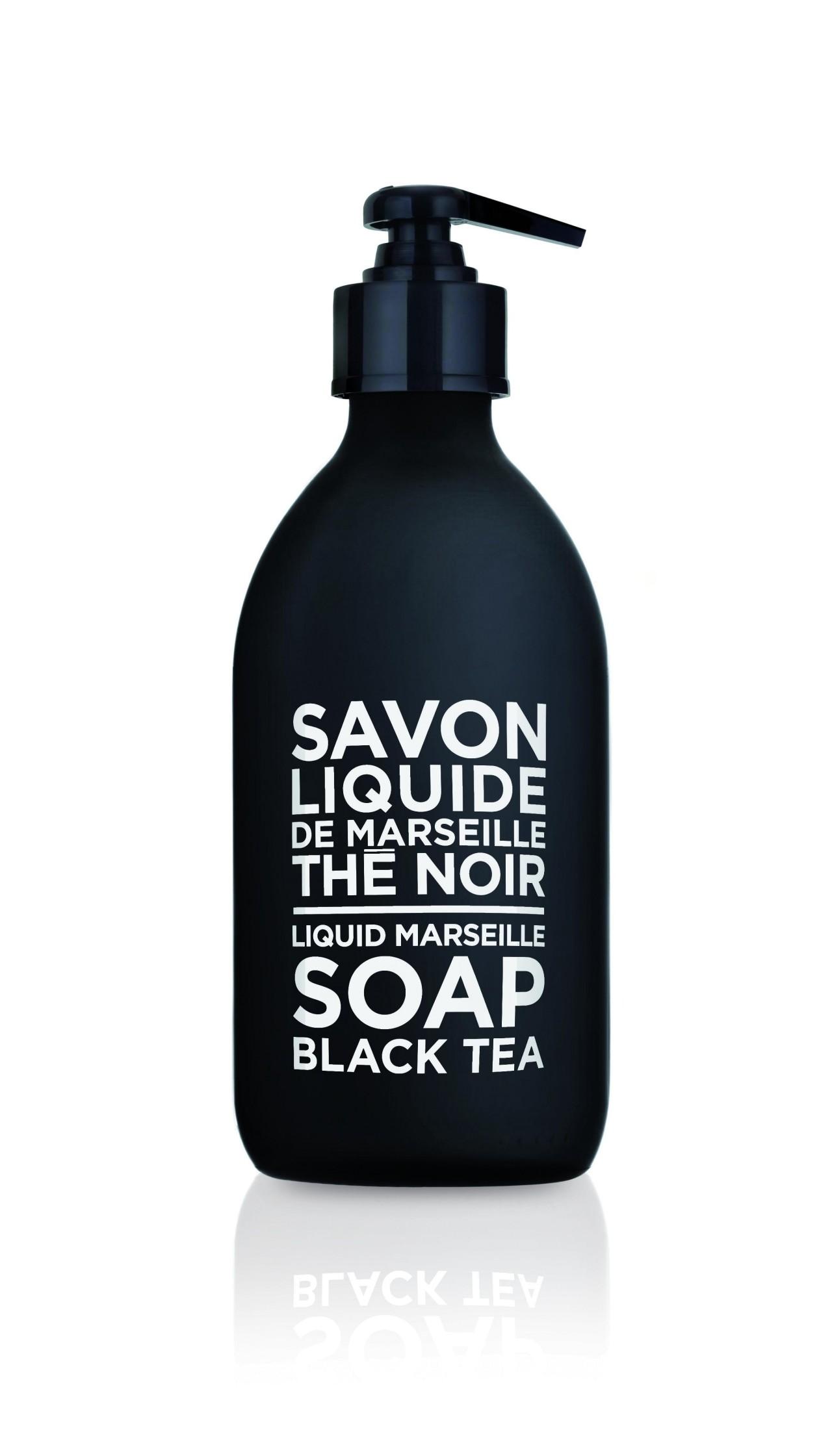 Sapone Liquido di Marsiglia al Tè Nero 300 ml Compagnie de Provence Italia CP69423-01