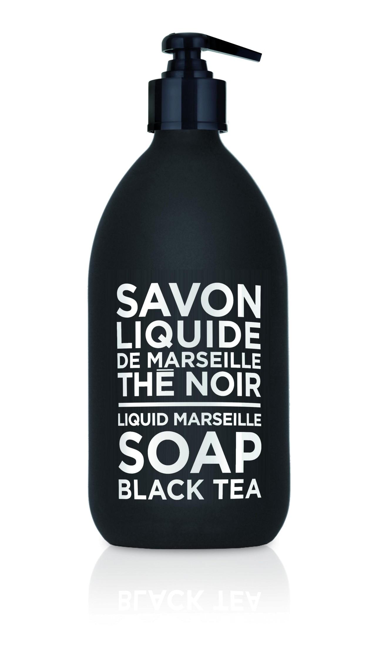Sapone Liquido di Marsiglia al Tè Nero 500 ml Compagnie de Provence Italia CP69523-01
