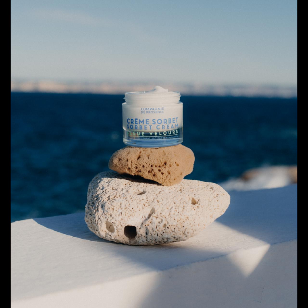 Crema Viso Ultra-Idratante alle Alghe Vellutate 50ml Compagnie de Provence Italia CPPF0115CV050AV-01