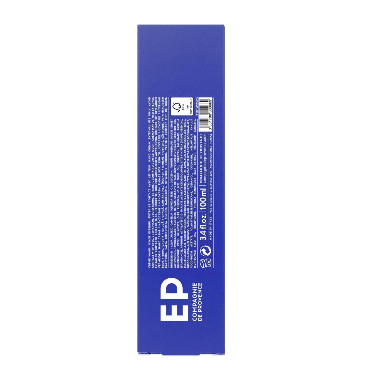 Crema Mani Mediterraneo 100 ml Compagnie de Provence Italia CPPF0101CM100ME-01