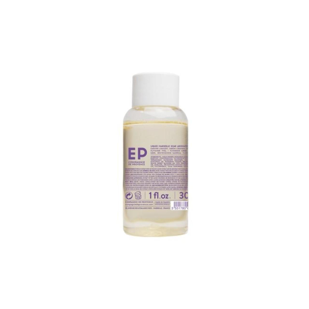 Sapone Liquido di Marsiglia alla Lavanda Aromatica 30 ml Compagnie de Provence Italia CPPF0101SL030LA-01