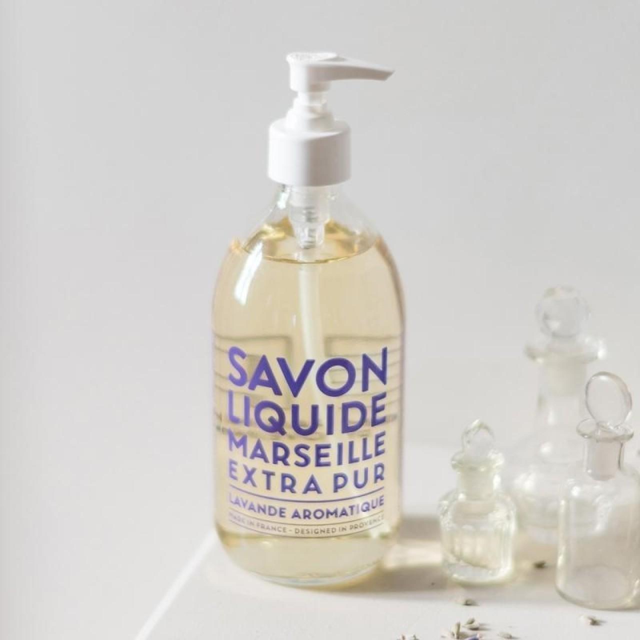 Sapone Liquido di Marsiglia alla Lavanda Aromatica 500 ml Compagnie de Provence Italia CPPF0101SL500LA-01