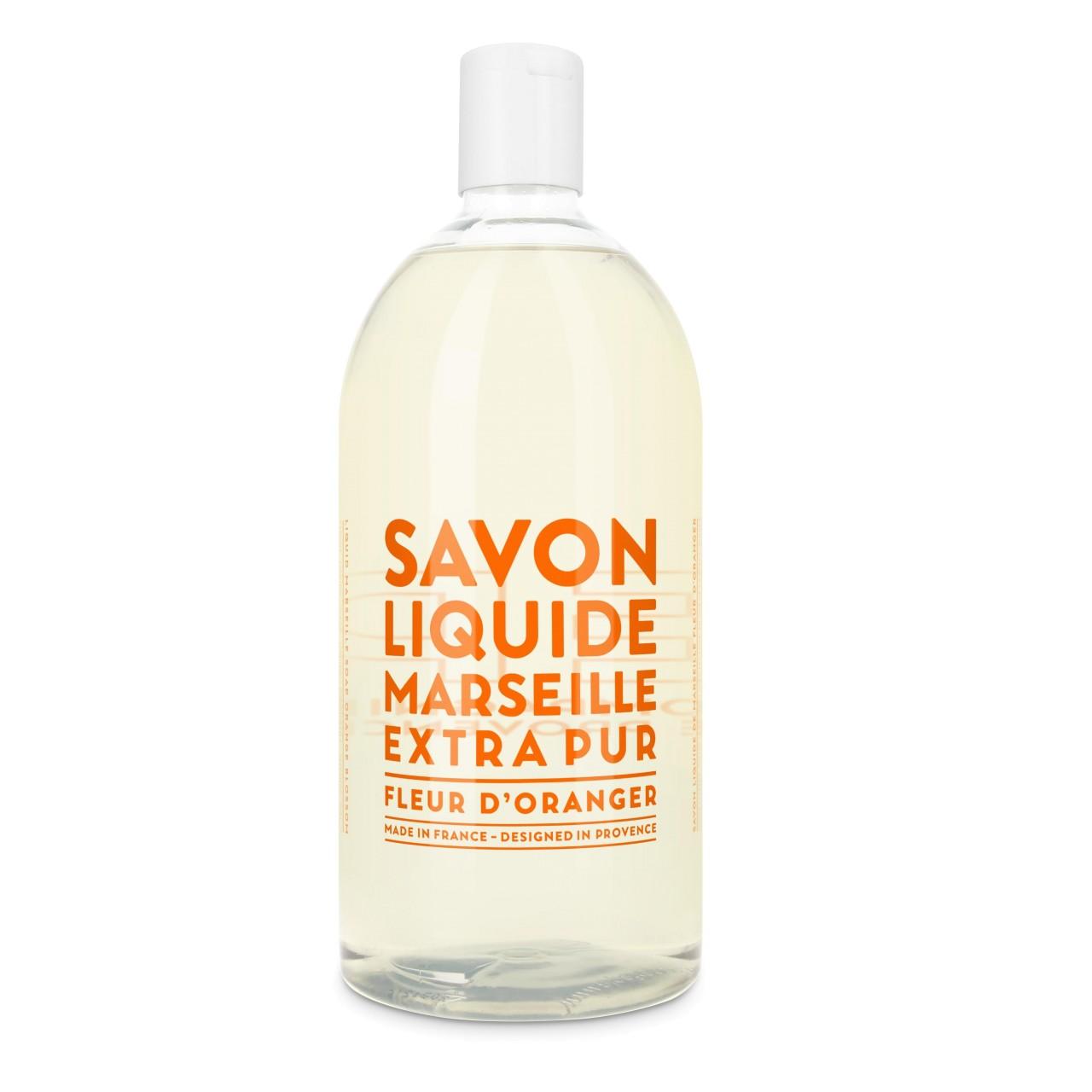 Sapone Liquido di Marsiglia ai Fiori dArancio Ricarica 1L Compagnie de Provence Italia CPPF0101SL01LFO-01
