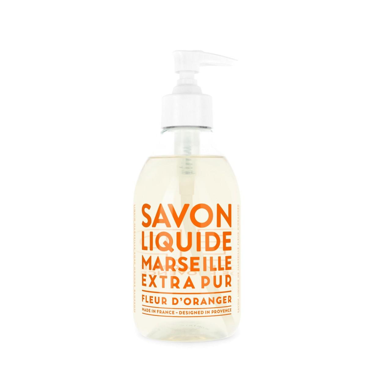 Sapone Liquido di Marsiglia ai Fiori dArancio 300 ml Compagnie de Provence Italia CPPF0101SL300FO-01