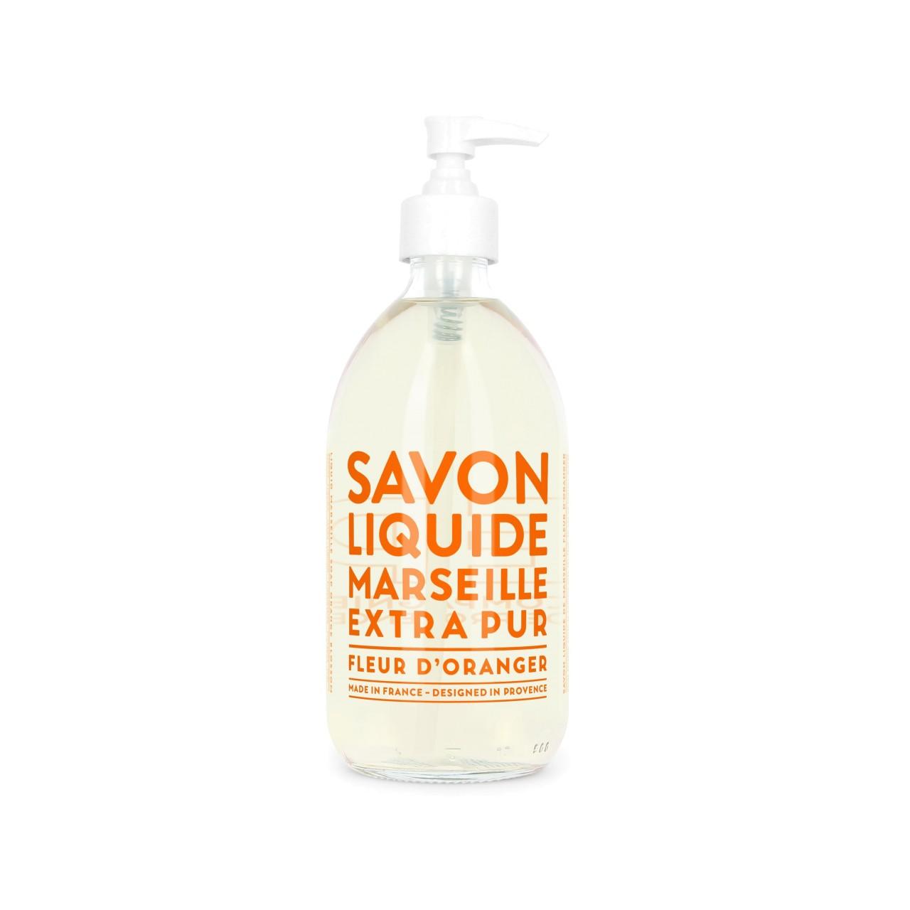 Sapone Liquido di Marsiglia ai Fiori dArancio 500 ml Compagnie de Provence Italia CPPF0101SL500FO-01