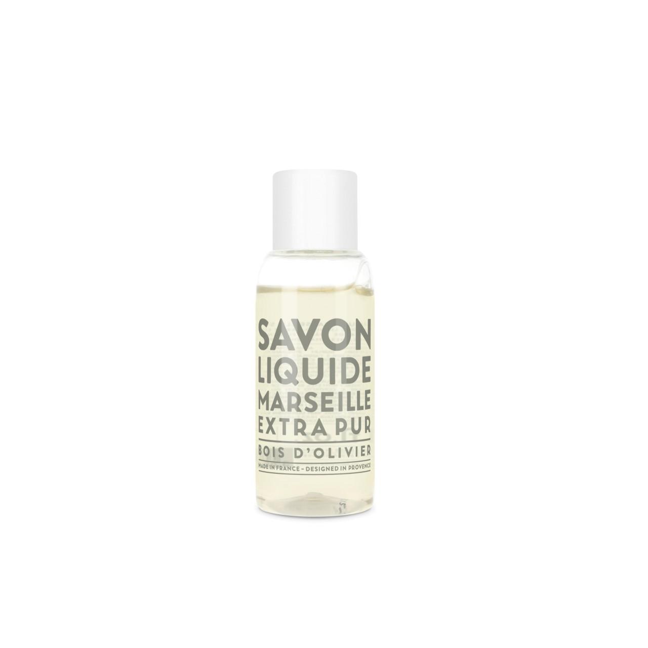 Sapone Liquido di Marsiglia al Legno dUlivo 30 ml Compagnie de Provence Italia CPPF0101SL030BO-01