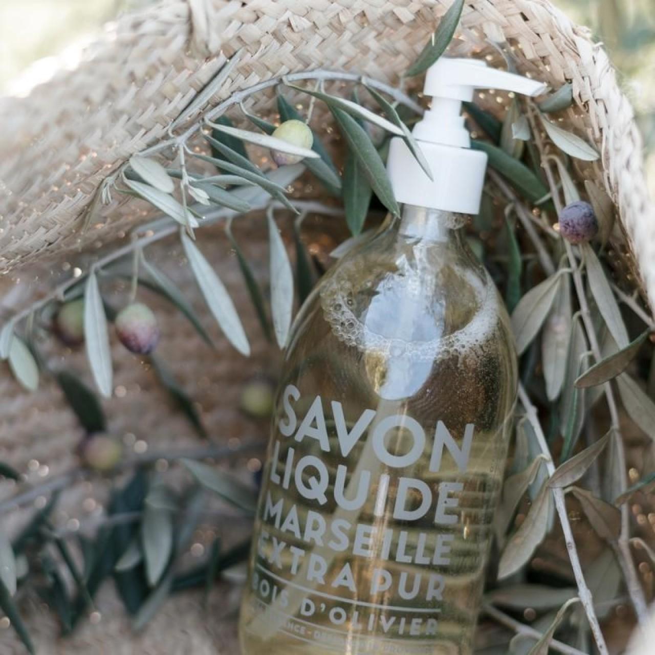 Sapone Liquido di Marsiglia al Legno dUlivo 500 ml Compagnie de Provence Italia CPPF0101SL500BO-01
