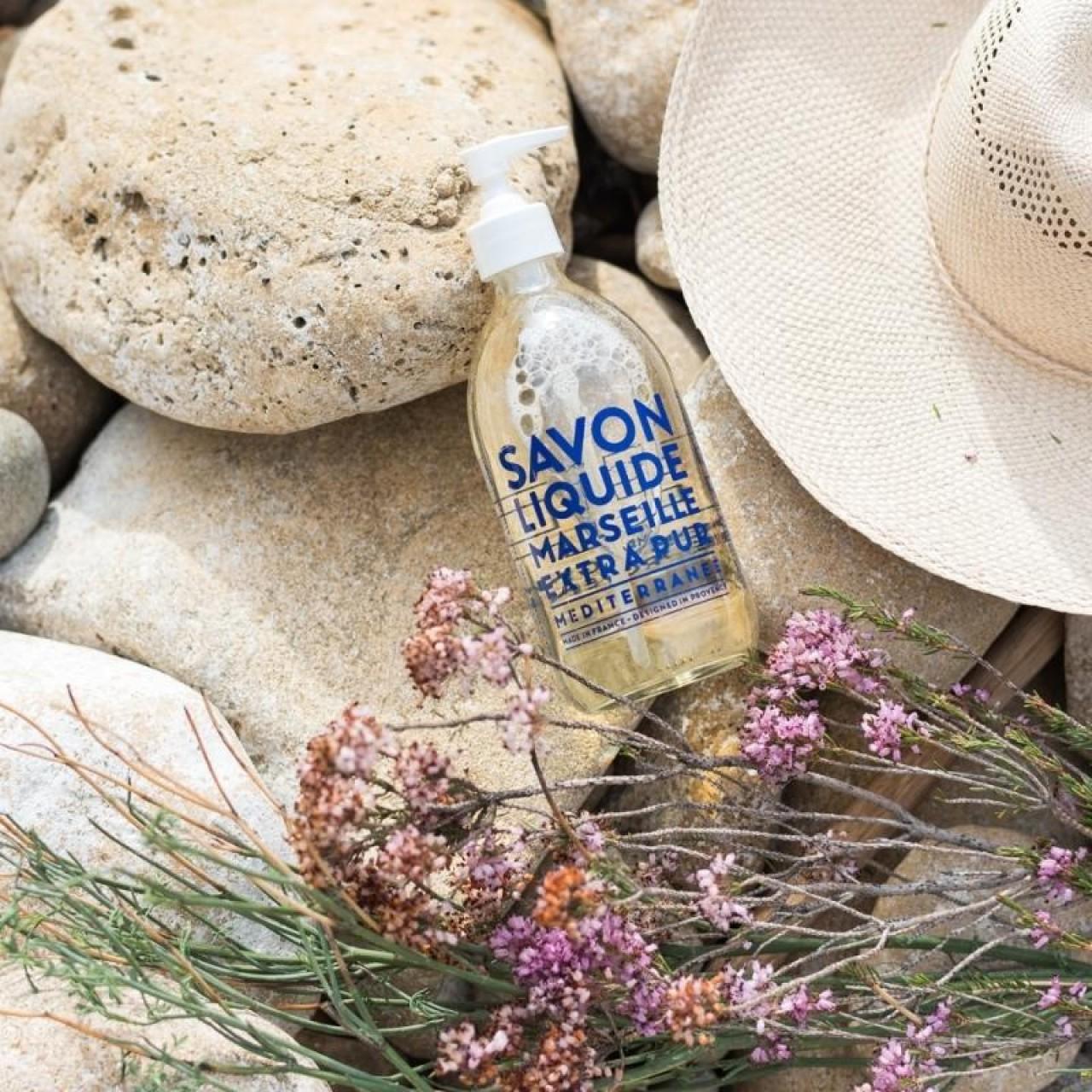 Sapone Liquido di Marsiglia Mediterraneo 500 ml Compagnie de Provence Italia CPPF0101SL500ME-01