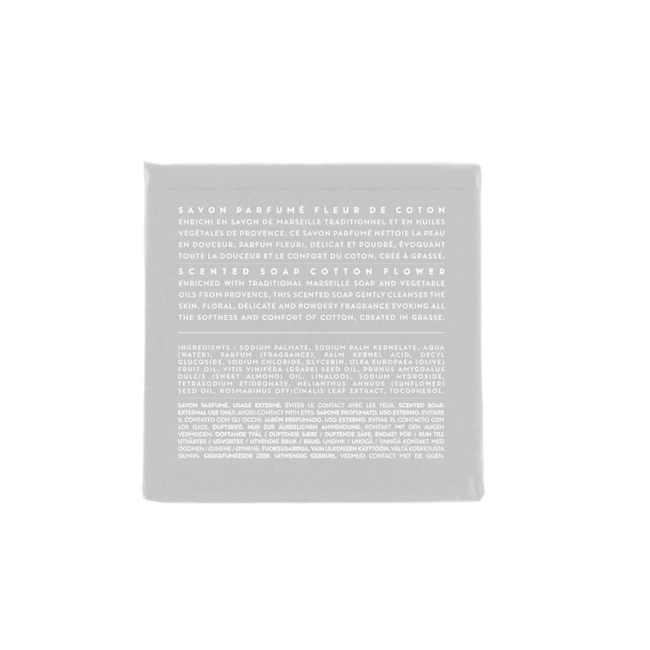 Sapone Profumato di Marsiglia ai Fiori di Cotone 100 g Compagnie de Provence Italia CPPF0101SS100CO-03