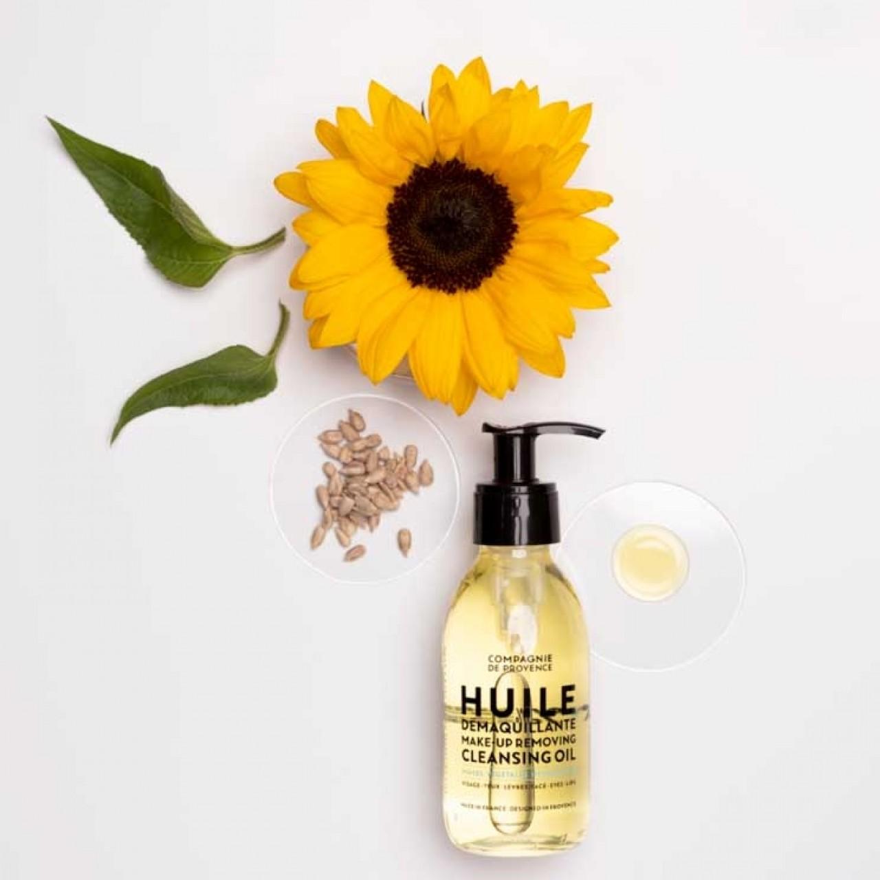 Olio struccante detergente per viso 140 ml Compagnie de Provence Italia CPPF0113HD140SK-01