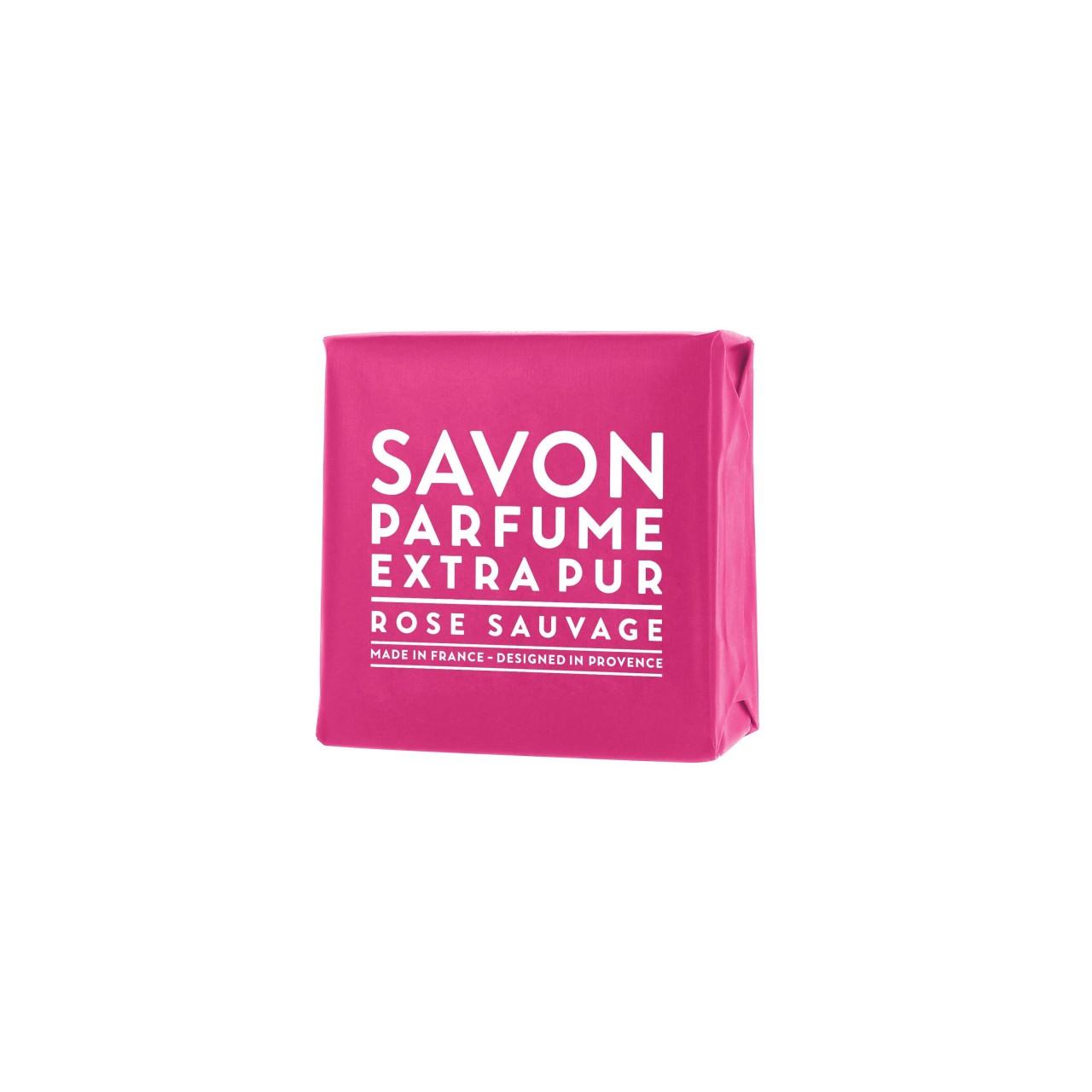 Sapone Profumato di Marsiglia alla Rosa Selvatica 100 g Compagnie de Provence Italia CPPF0101SS100RO-03