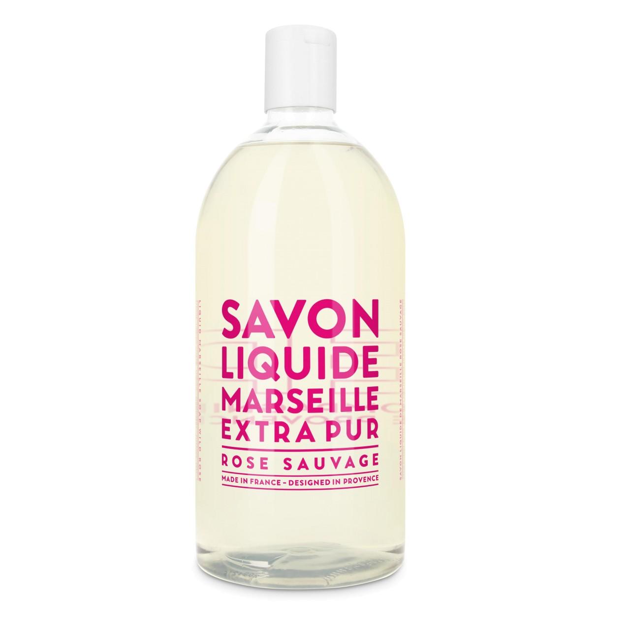 Sapone Liquido di Marsiglia alla Rosa Selvatica Ricarica 1L Compagnie de Provence Italia CPPF0101SL01LRO-01