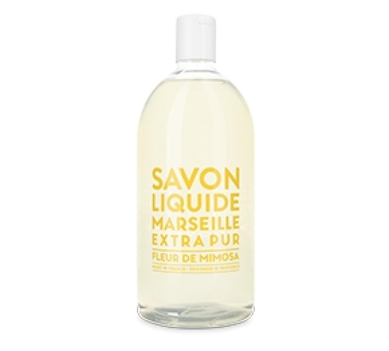 Sapone Liquido di Marsiglia alla Mimosa Ricarica 1L Compagnie de Provence Italia CPPF0101SL01LMI-02