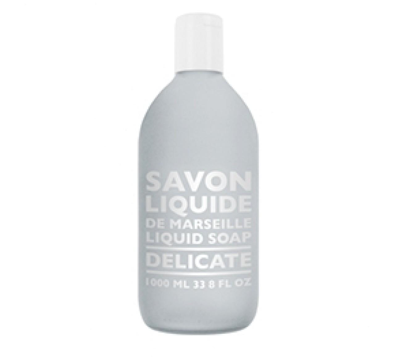 Sapone Liquido di Marsiglia Delicate Ricarica 1L Compagnie de Provence Italia CPPF0112SL01LDE-01