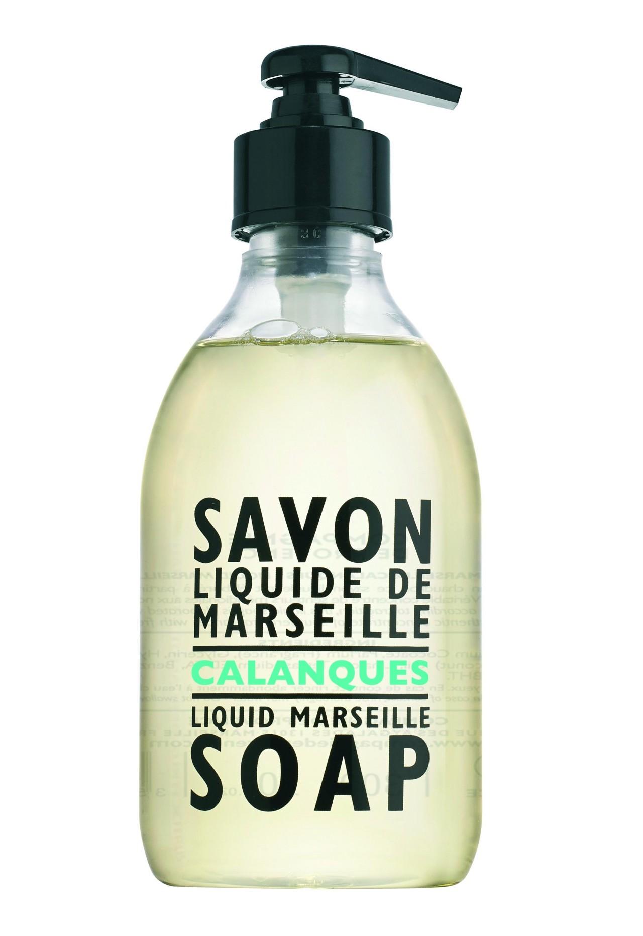 Sapone liquido di Marsiglia Calanques 300 ml Compagnie de Provence Italia CP18372-01