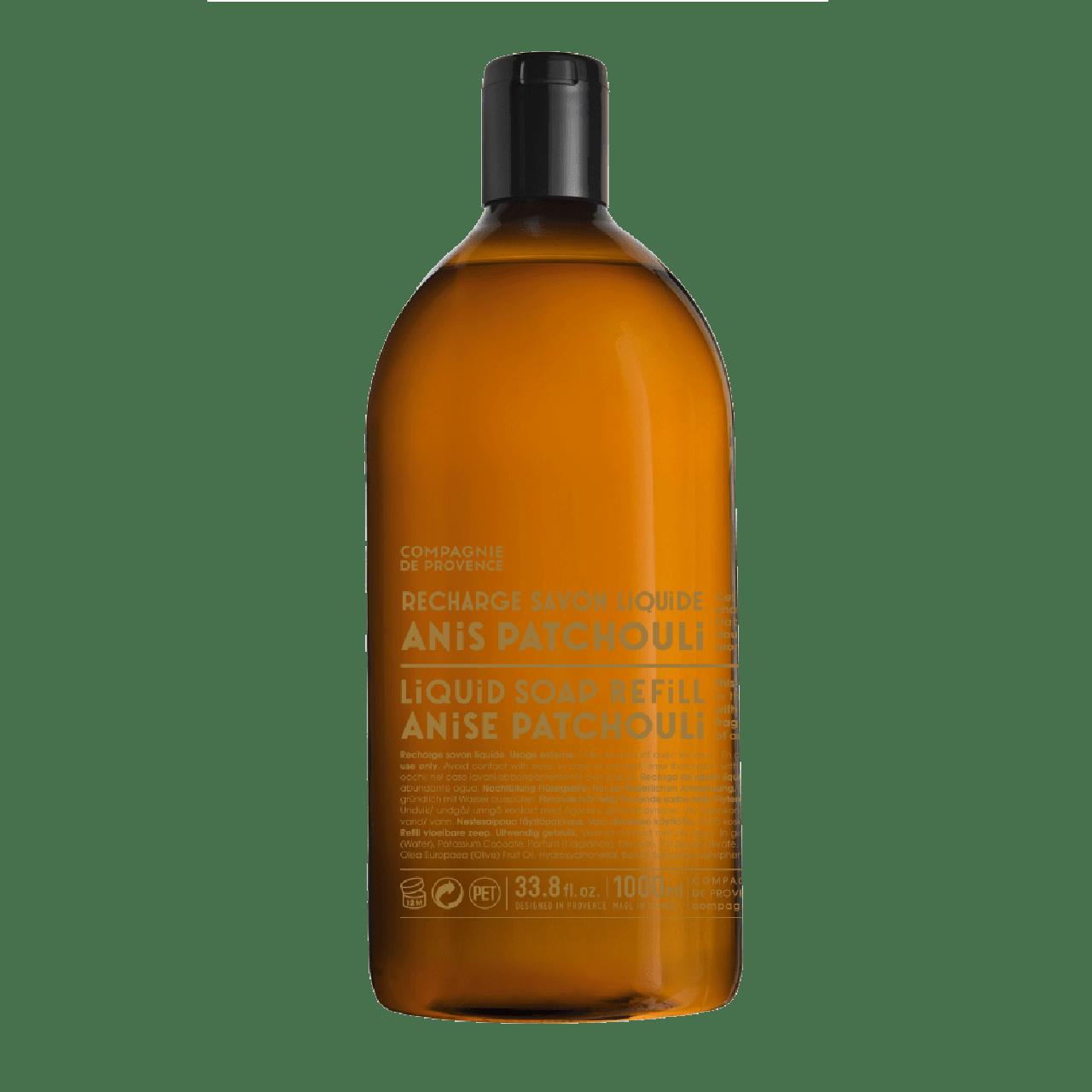 Sapone Liquido di Marsiglia allAnice e Patchouli Ricarica 1L Compagnie de Provence Italia CP18265-01