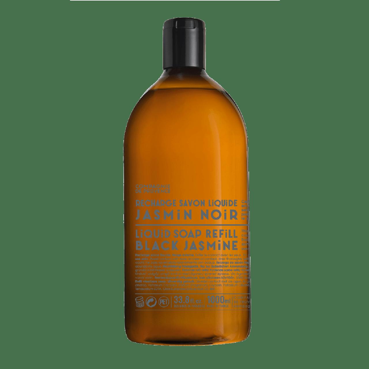 Sapone Liquido di Marsiglia al Gelsomino Nero Ricarica 1L Compagnie de Provence Italia CP18262-01