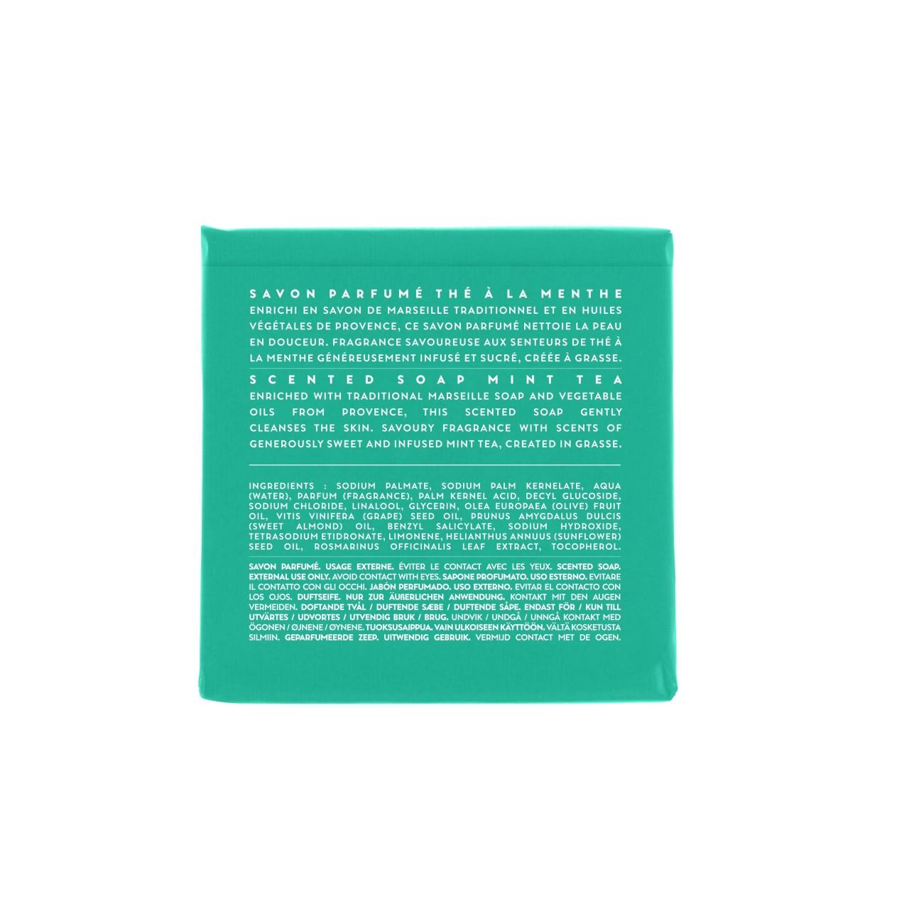 Sapone Profumato di Marsiglia al Tè alla Menta 100 g Compagnie de Provence Italia CPPF0101SS100MN-04