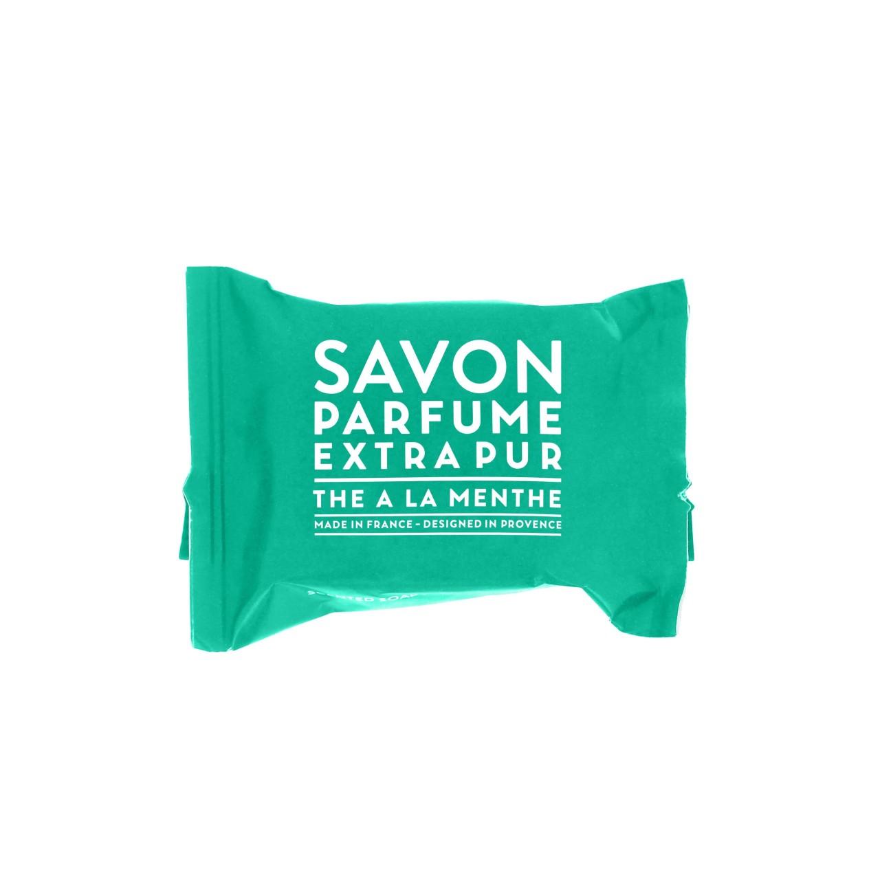 Sapone Profumato di Marsiglia al Tè alla Menta 25 g Compagnie de Provence Italia CPPF0101SS025MN-01