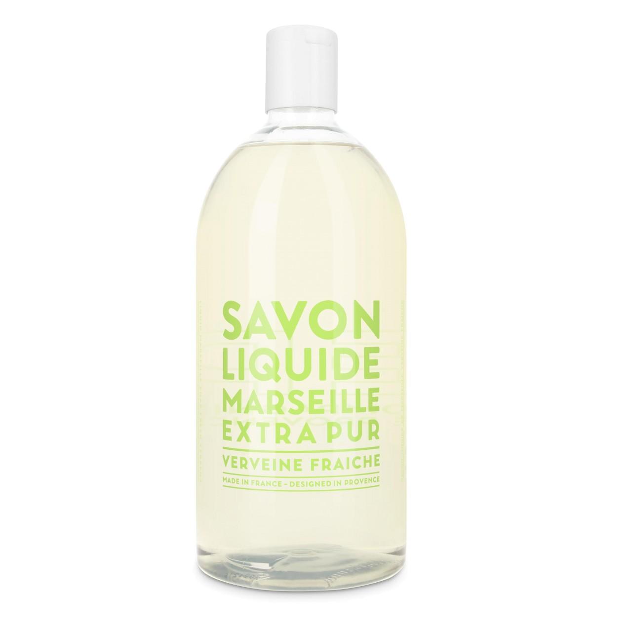 Sapone liquido di Marsiglia alla Verbena Fresca Ricarica 1L Compagnie de Provence Italia CPPF0101SL01LVE-01
