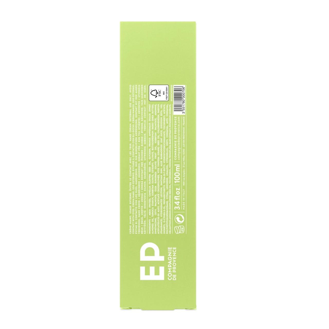 Crema Mani alla Verbena Fresca 100 ml Compagnie de Provence Italia CPPF0101CM100VE-01